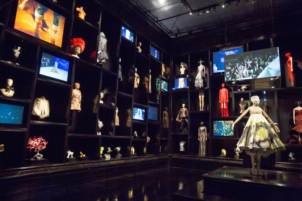 Cabinet of Curiosities, Alexander McQueen: Savage Beauty exhibition at the V&A