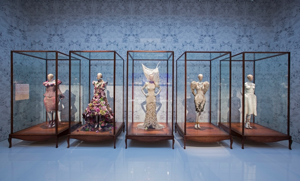 Cabinet of Curiosities  ,   Alexander McQueen:   Savage Beauty   exhibition at the V&A