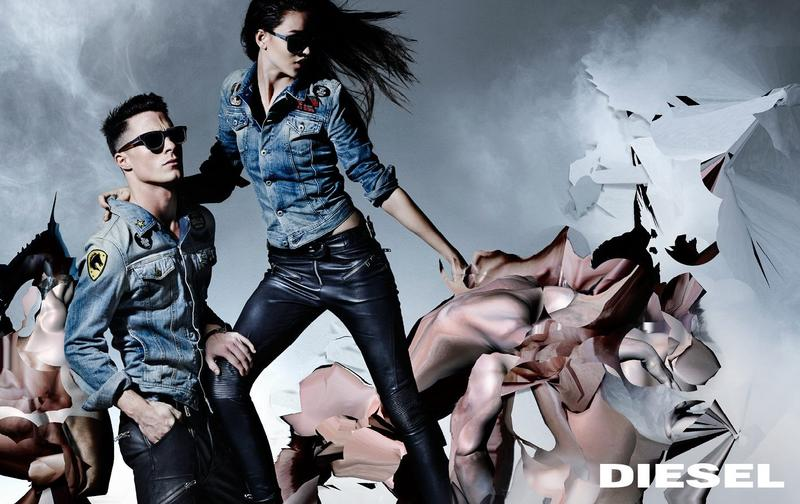 Diesel's Fall/Winter '14 ad campaign by Nick Knight