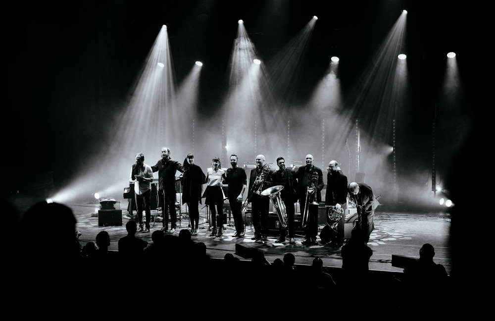 A Winged Victory Of A Sullen show at the Barbican Centre. Photography by Luke Cole
