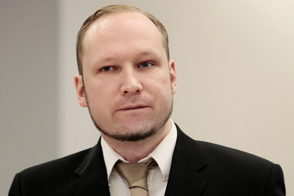 Anders Breivik. Photo by Press Association