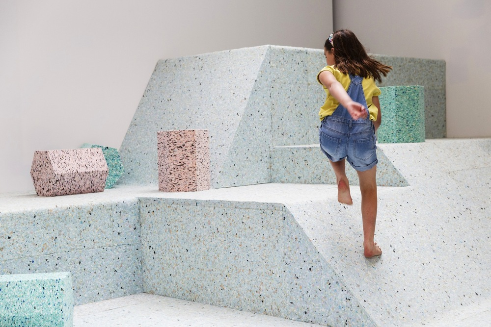 The Brutalist Playground  at the Royal Institute of British Architects with Assemble