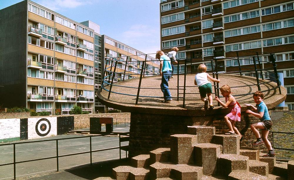 The Brutalist Playground   at the   Royal Institute of British Architects. Photography by John Donat