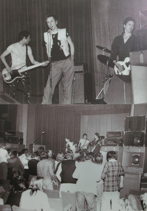 Sex Pistols at Manchester's Lesser Free Trade Hall, 1976