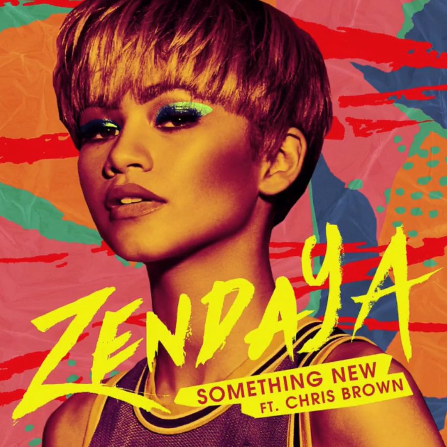 Zendaya's 'Something New' artwork