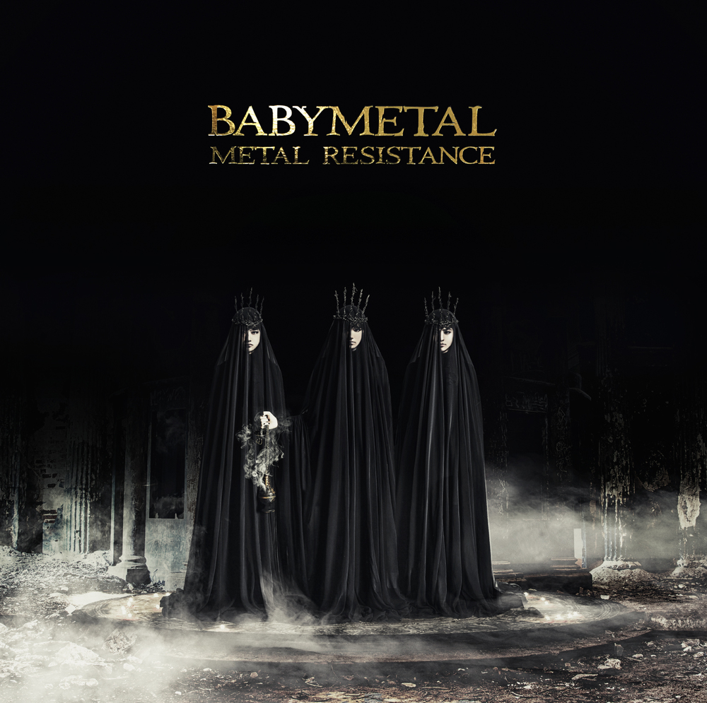 Babymetal's ' Metal Resistance ' special edition album cover -  only available in Japan