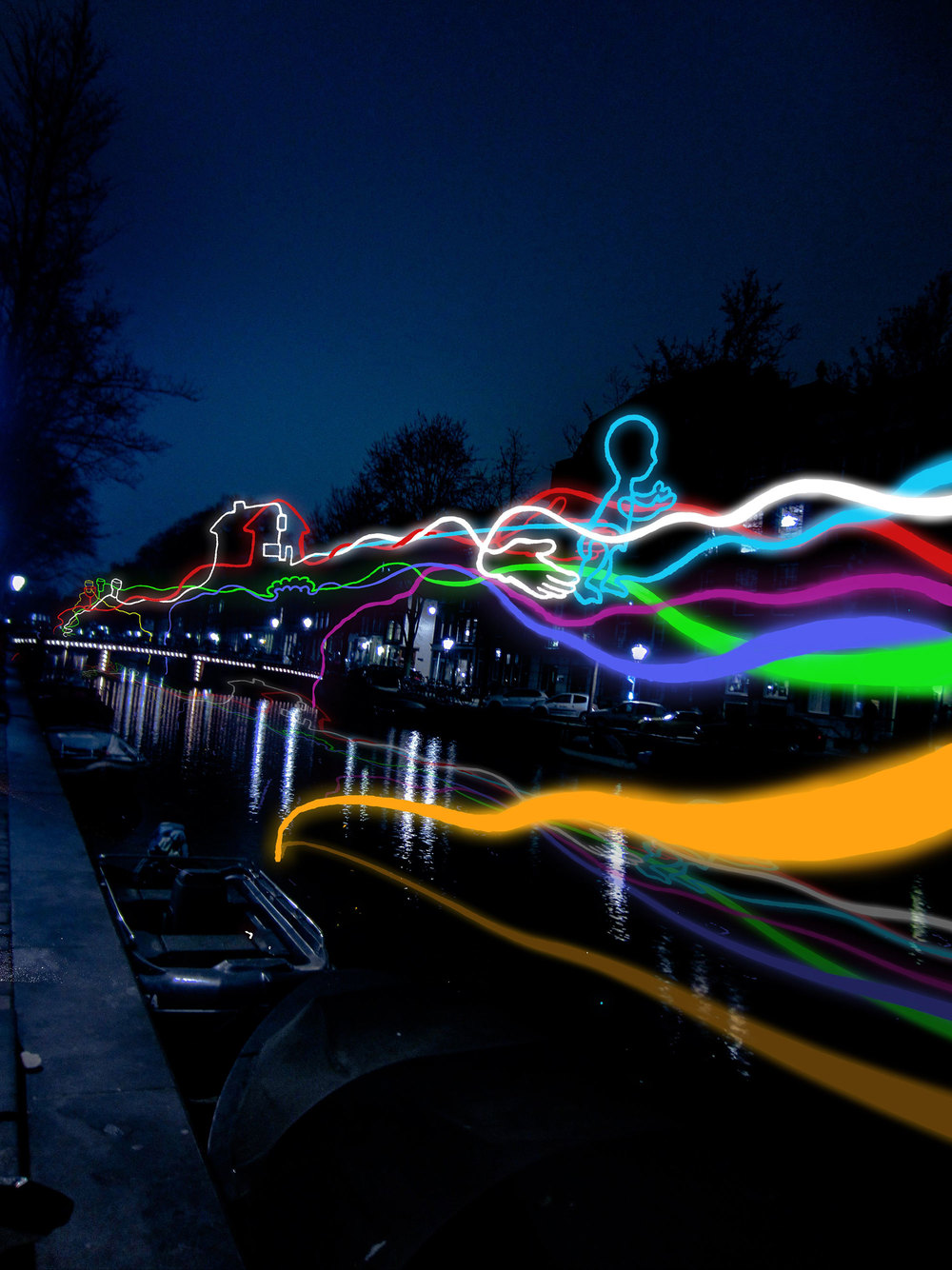LIGHTING UP THE CITY: AMSTERDAM LIGHT FESTIVAL