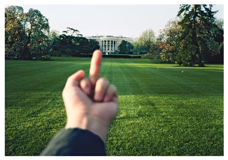 From the series ' A Study of Perspective ' The White House 1995–2003  by Ai Weiwei