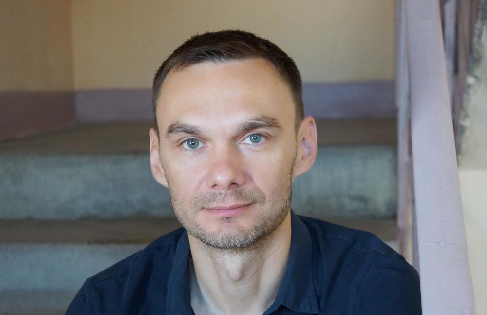 Portrait of Russian director, Askold Kurov