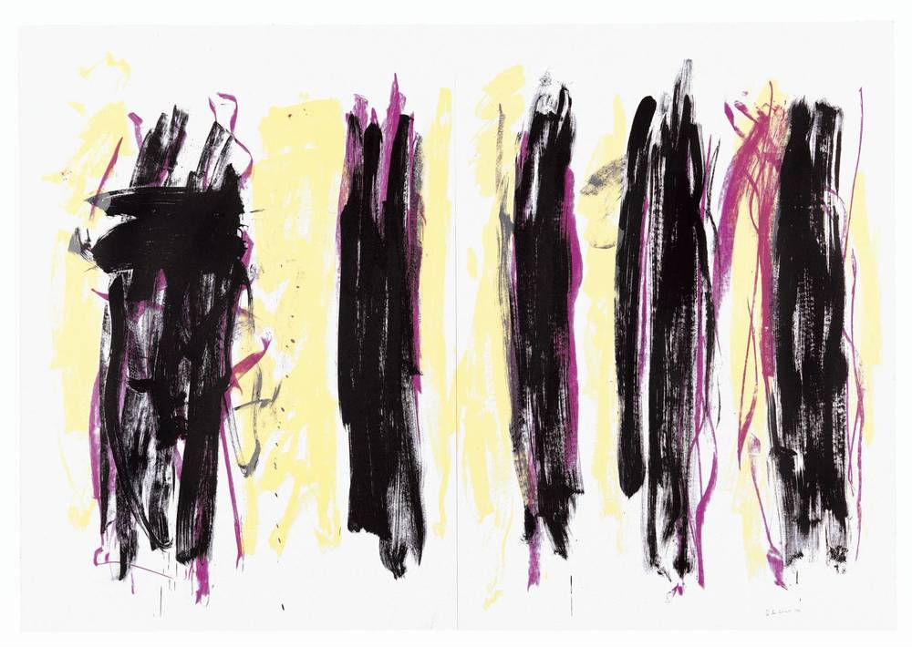 Trees III, 1992 by Joan Mitchell