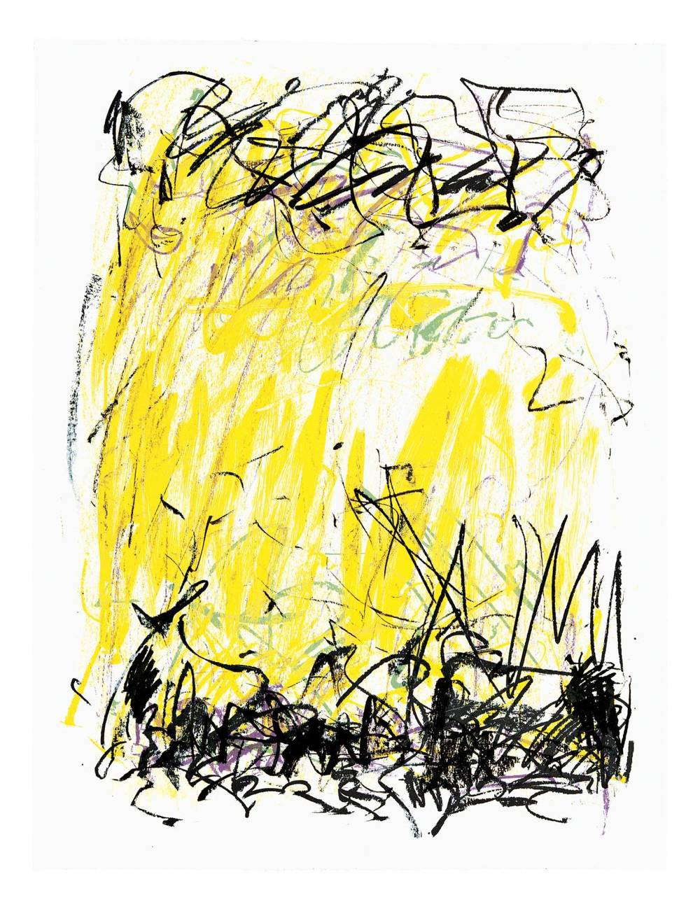Sides of a River II, 1981 by Joan Mitchell