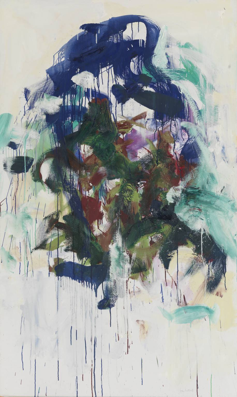 Chord II, 1986 by Joan Mitchell