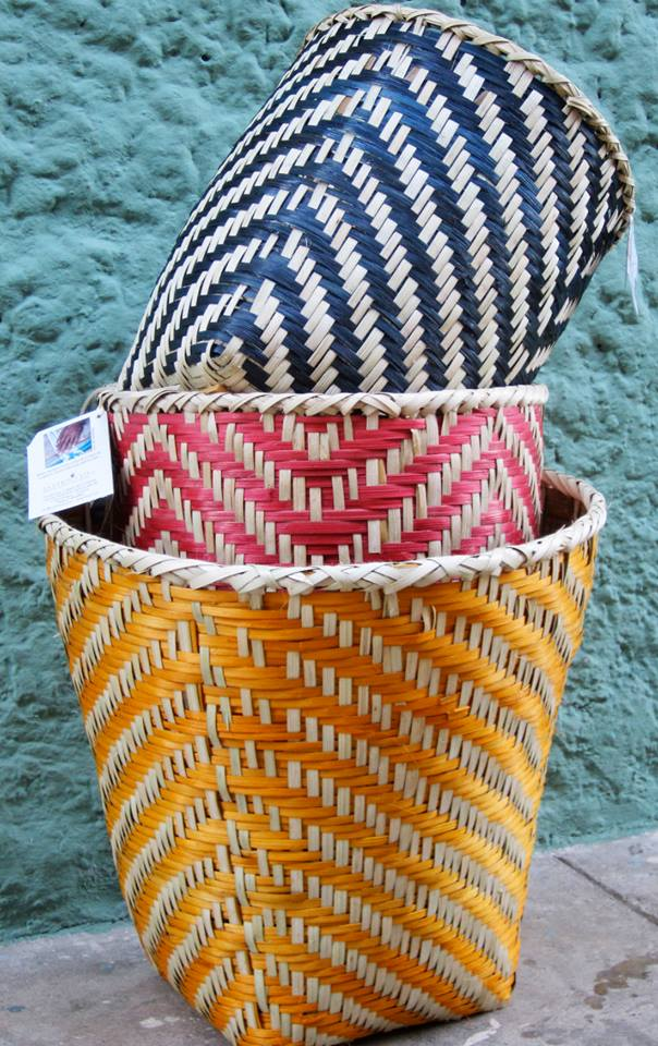 Papiro Y Yo's hand-weaved baskets