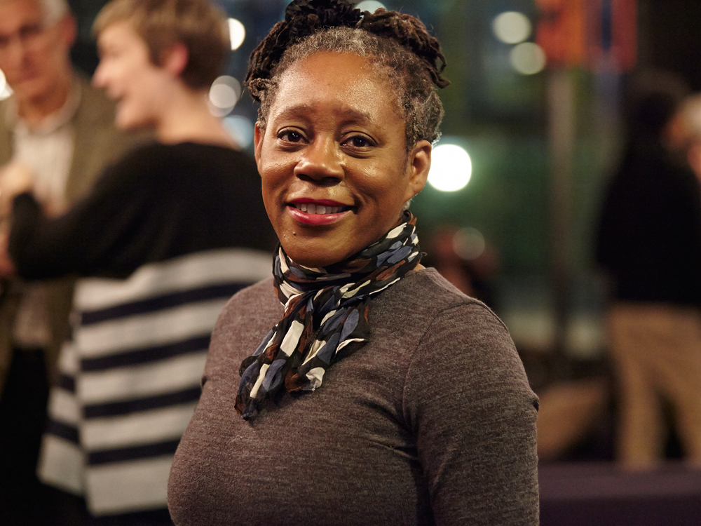 Professor at  the University of the Arts London,  Sonia Boyce. Photo by  Paul Cochrane .