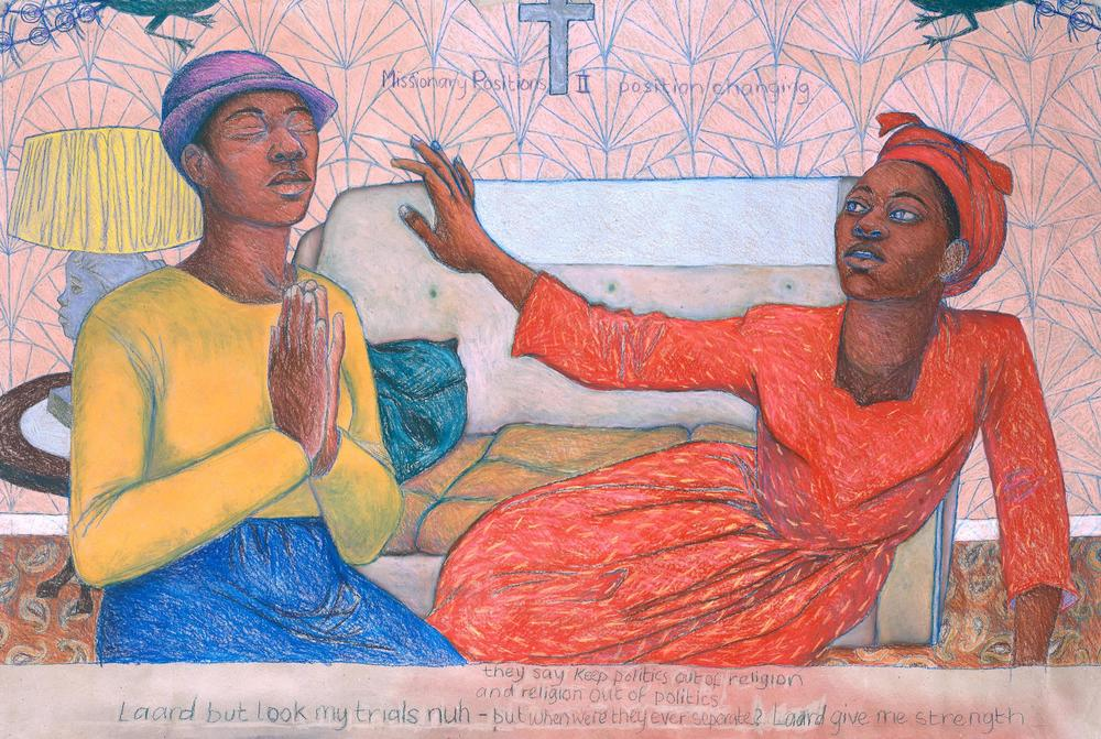 'Missionary Position II' 1985 by Sonia Boyce