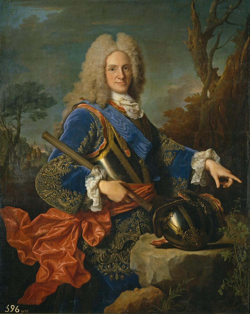 Portrait of Felipe V of Spain,1723 by Jean Ranc.