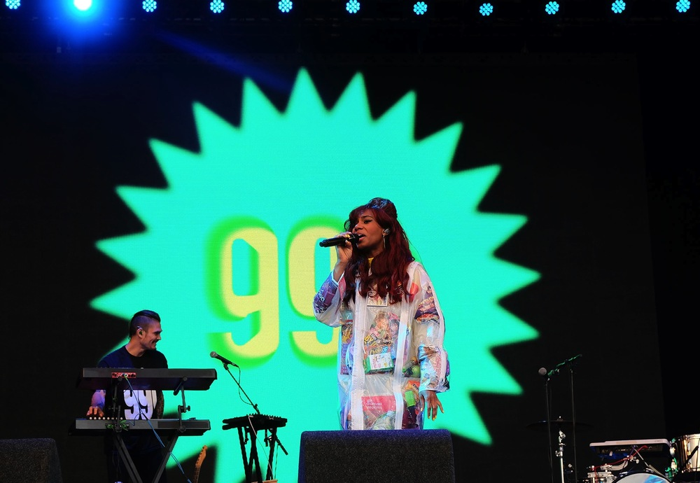 Santigold at Glastonbury Festival, 2016