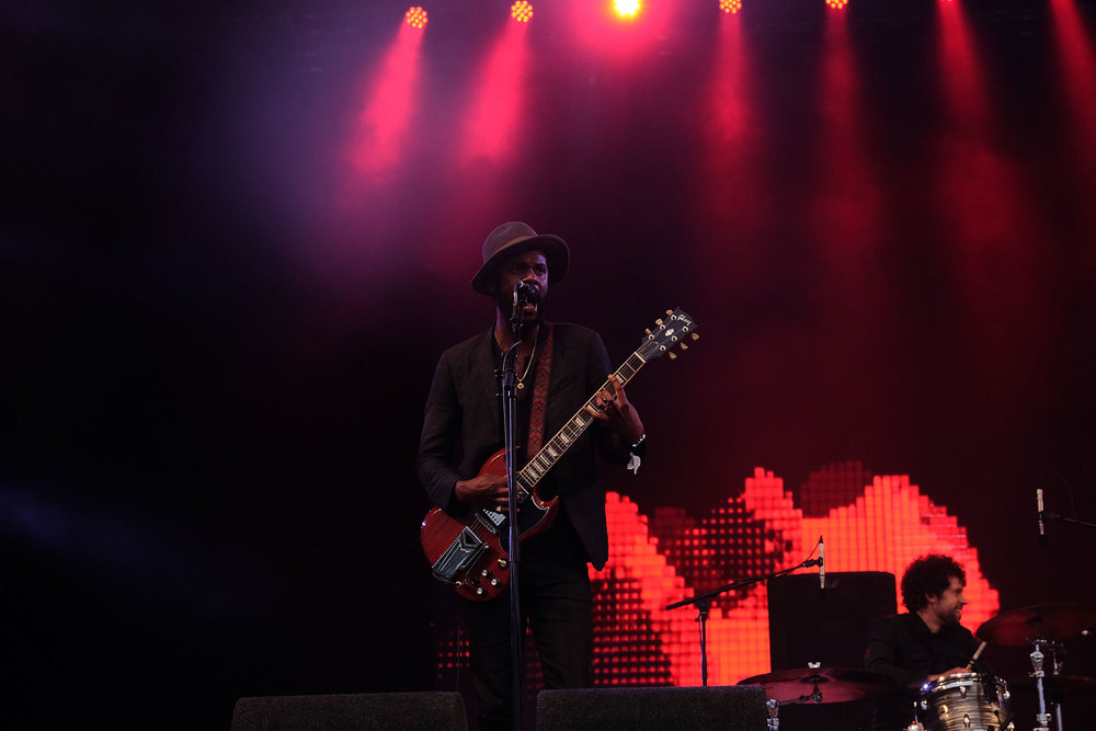 Gary Clark Jr at Glastonbury Festival, 2016