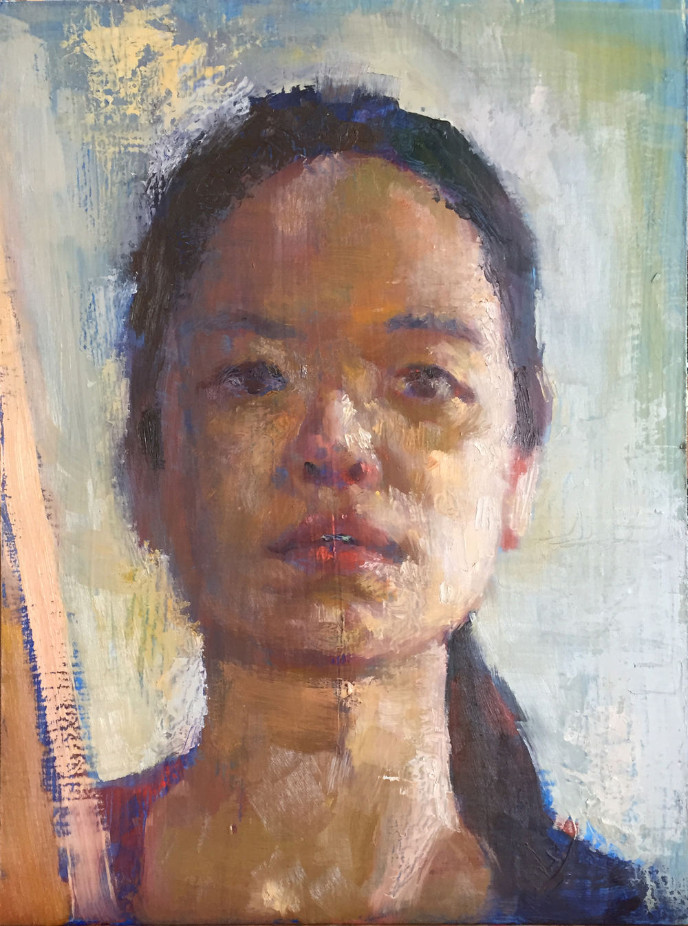 A self portrait of Jia Sung.