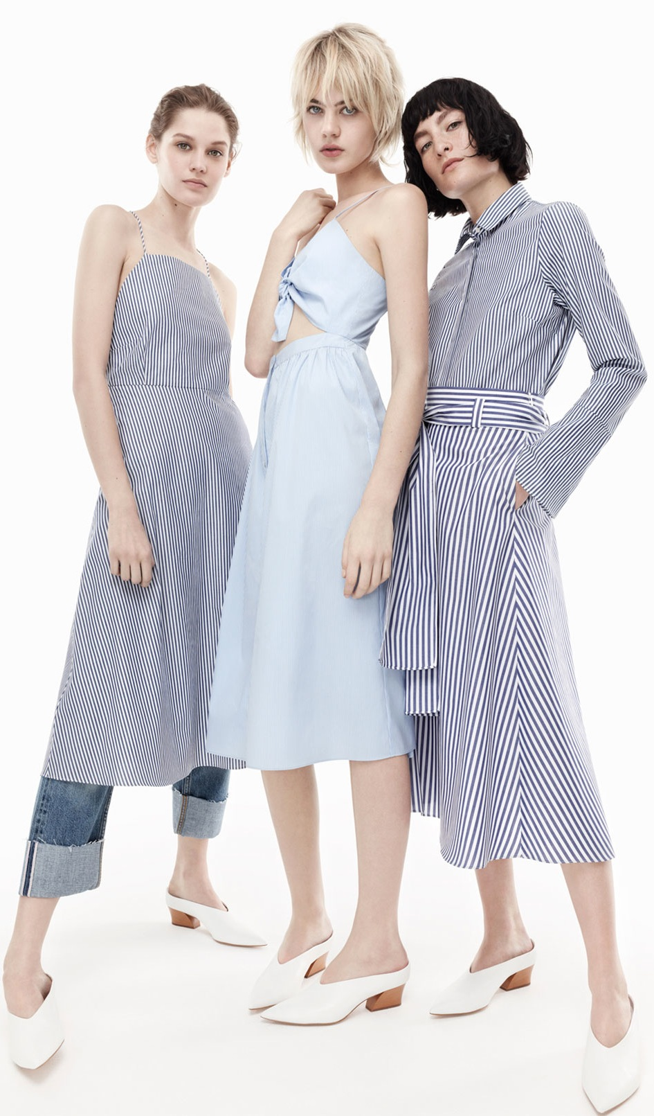Looks from Zara's Resort 2016 collection.