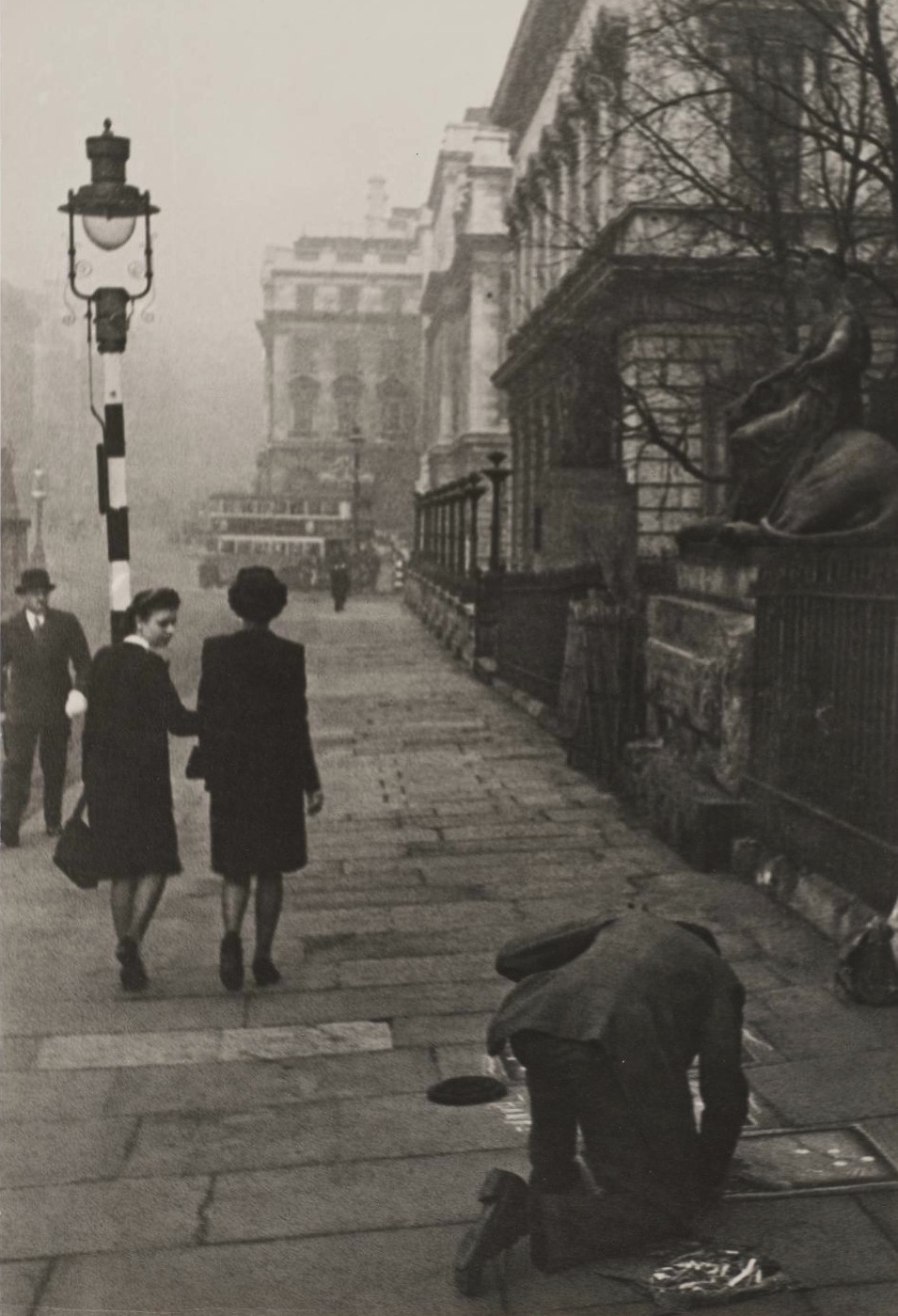 The Poor Artist , London, 1945 by Ivan Shagin.