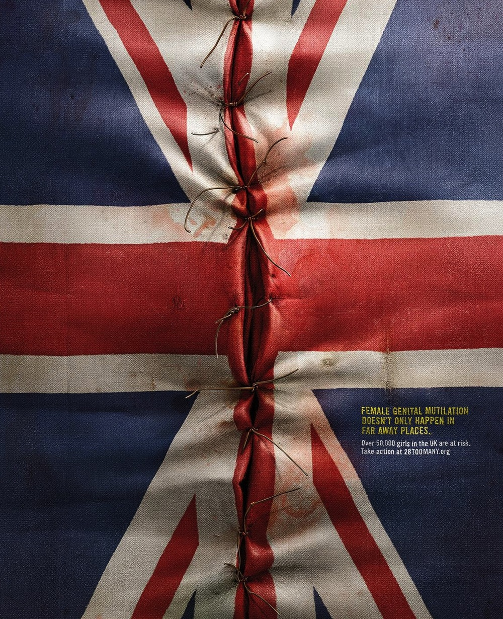 28 Too Many 's  FGM... Let's End It  campaign across Europe.