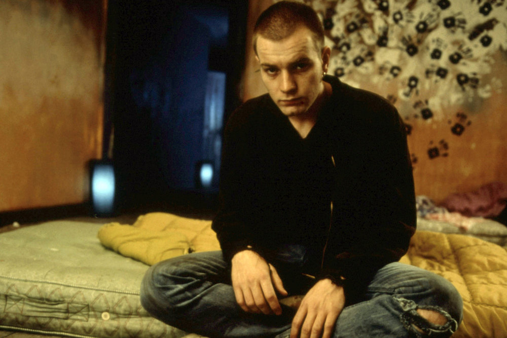 Still from Trainspotting, 1996, directed by Danny Boyle.