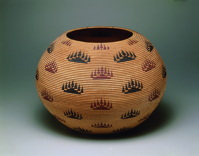 Basket Bowl, 1907 by Louisa Keyser.