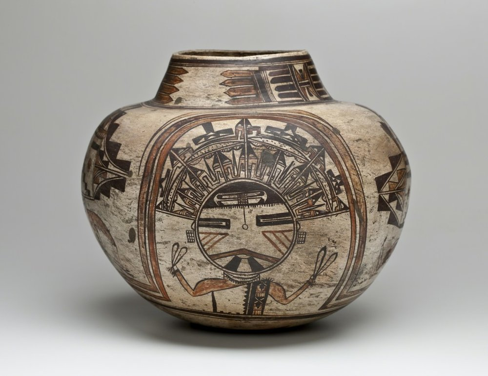 Water Jar, ca. 1900 by Nampeyo.