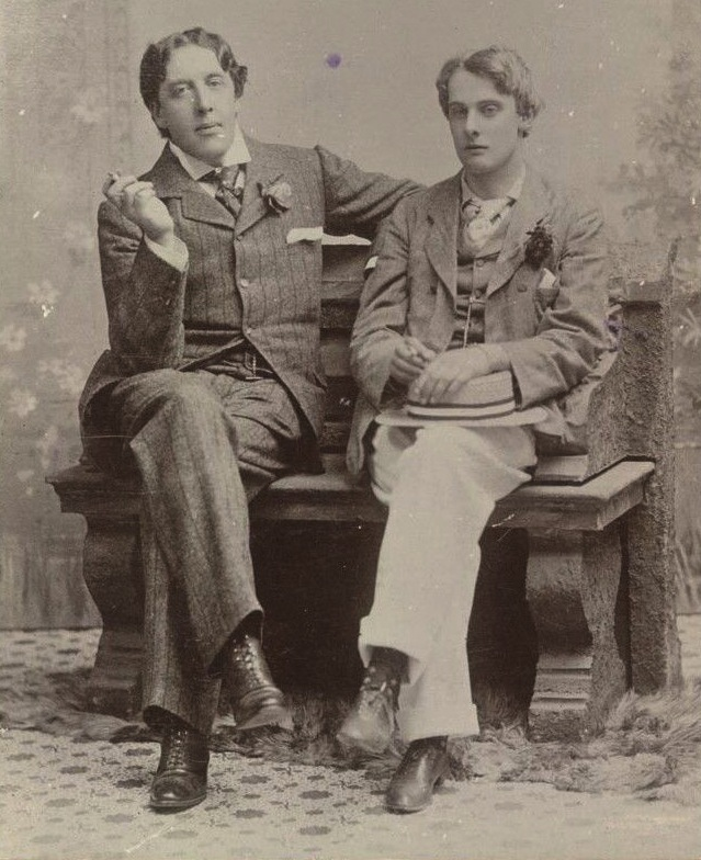 Undated photograph of Oscar Wilde and Lord Alfred Douglas. Photo source:  The British Library .
