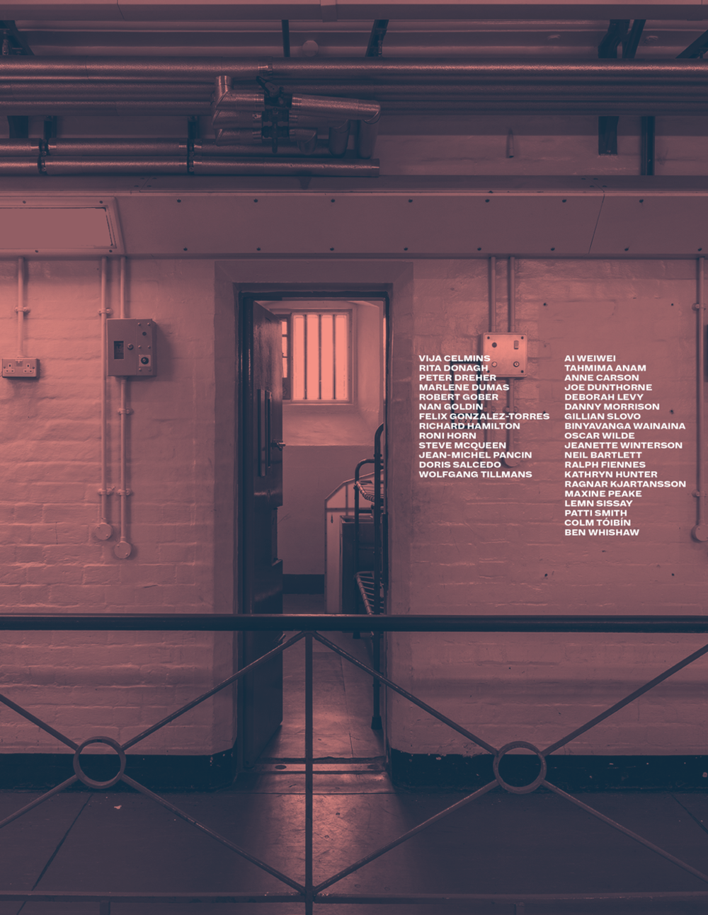 Artangel's   Inside: Artists and Performers in Reading Prison   exhibition, 2016.