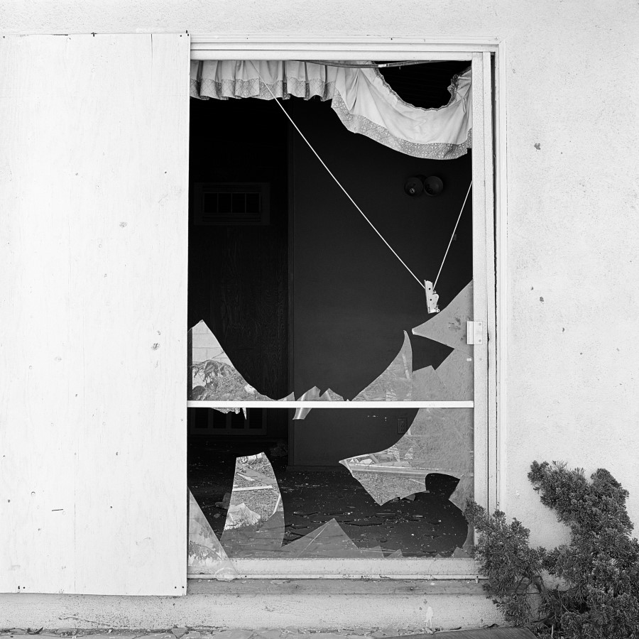 Forced Entry, Site 4,  1975/2006 by John Divola.
