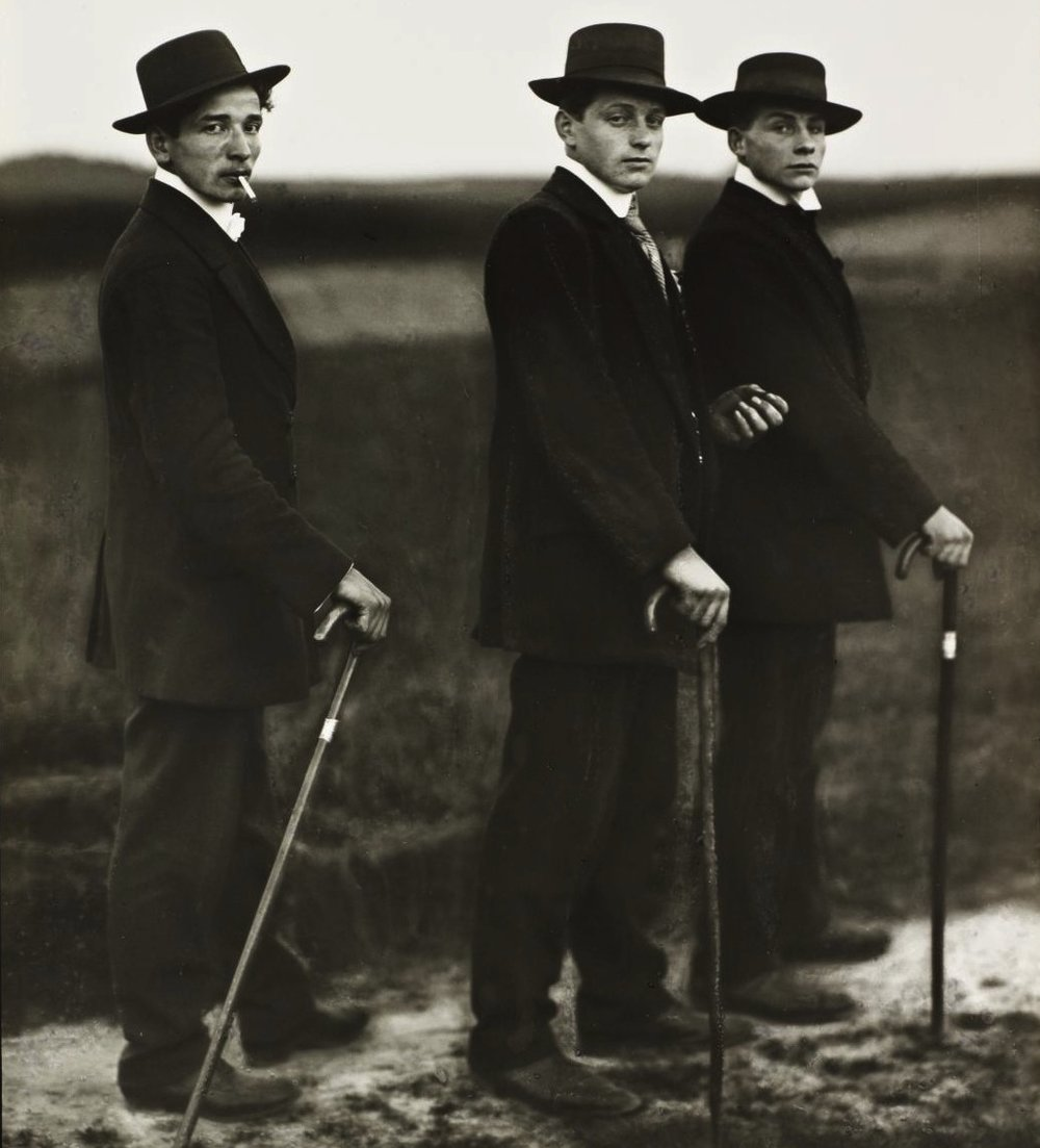 Young Farmers , 1914 by August Sander.