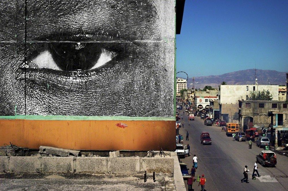 Inside Out, Haiti, 2010.