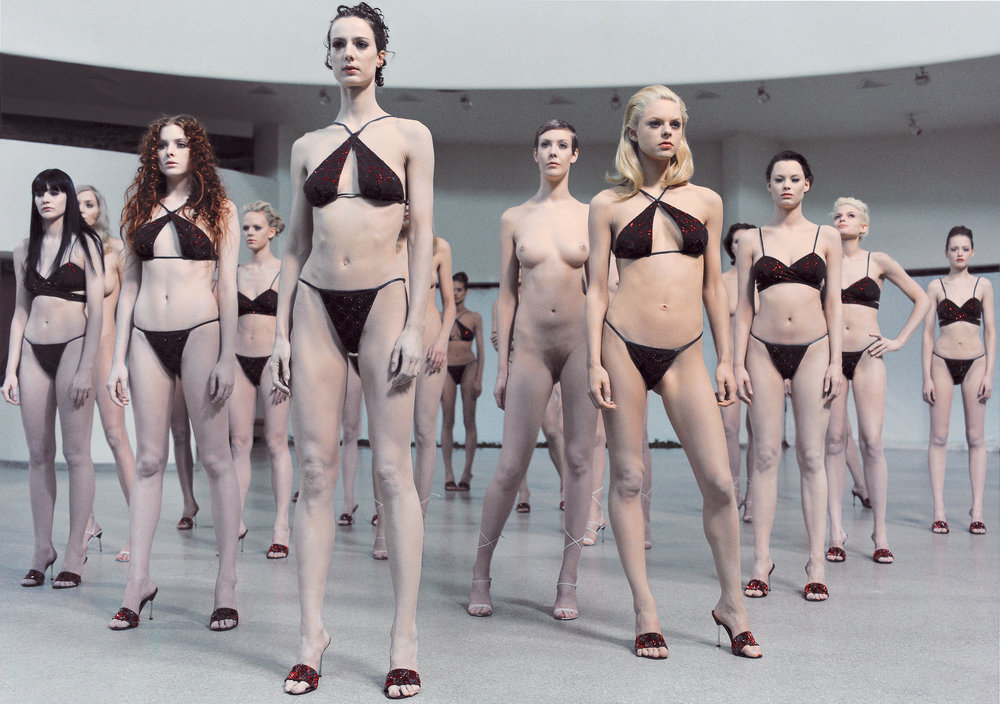 Untitled (VB35) , 1999 by Vanessa Beecroft.