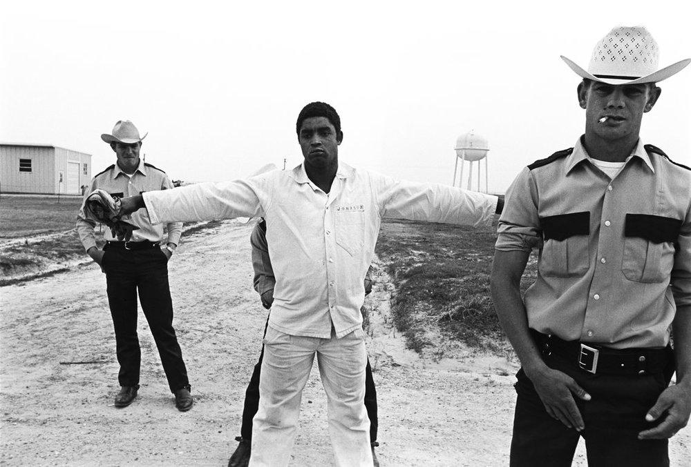 Cummins Prison ,1975 by Bruce Jackson.