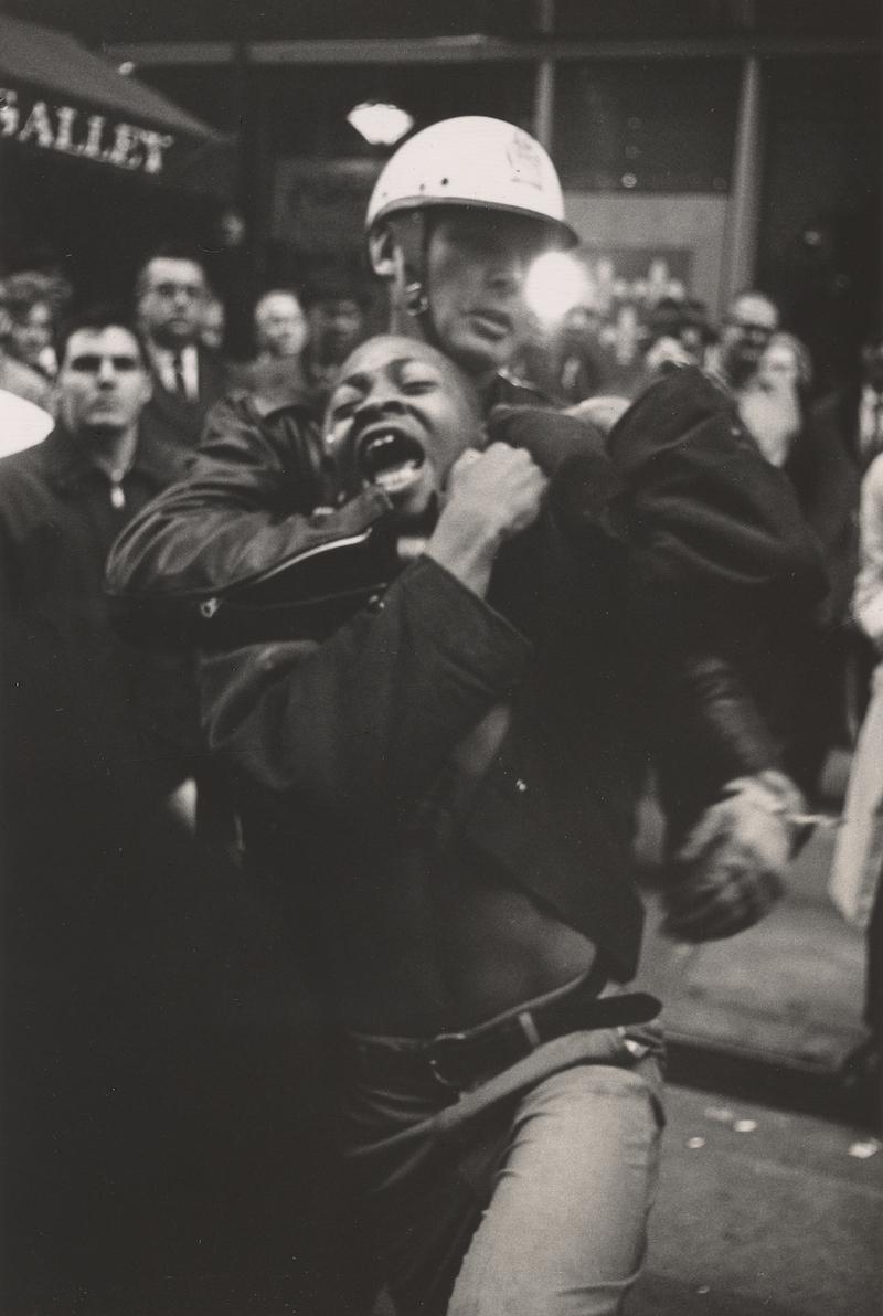 Arrest of Taylor Washington , Atlanta, 1963. Photo by Danny Lyon.