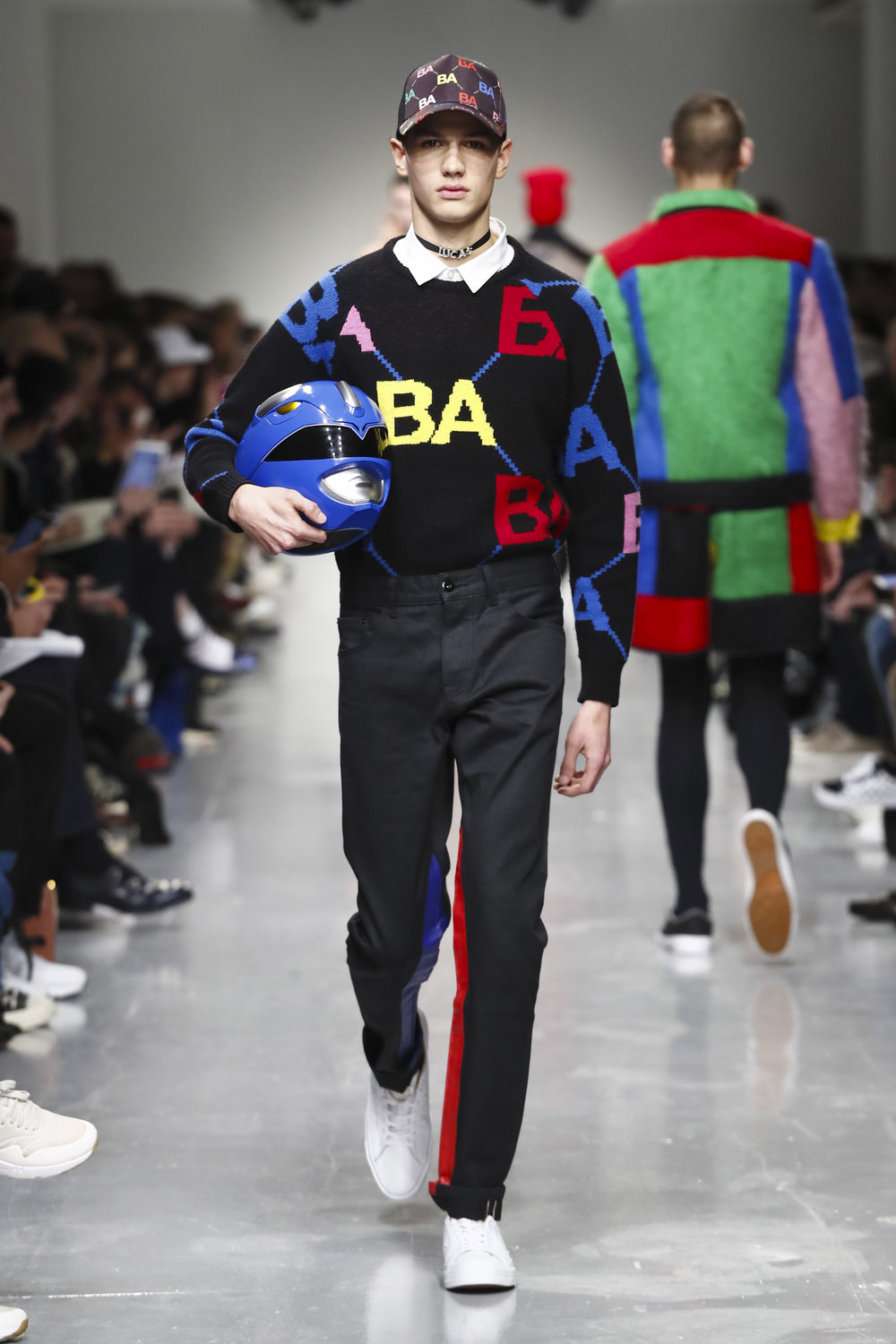 A look from   Bobby Abley's   AW17 collection.