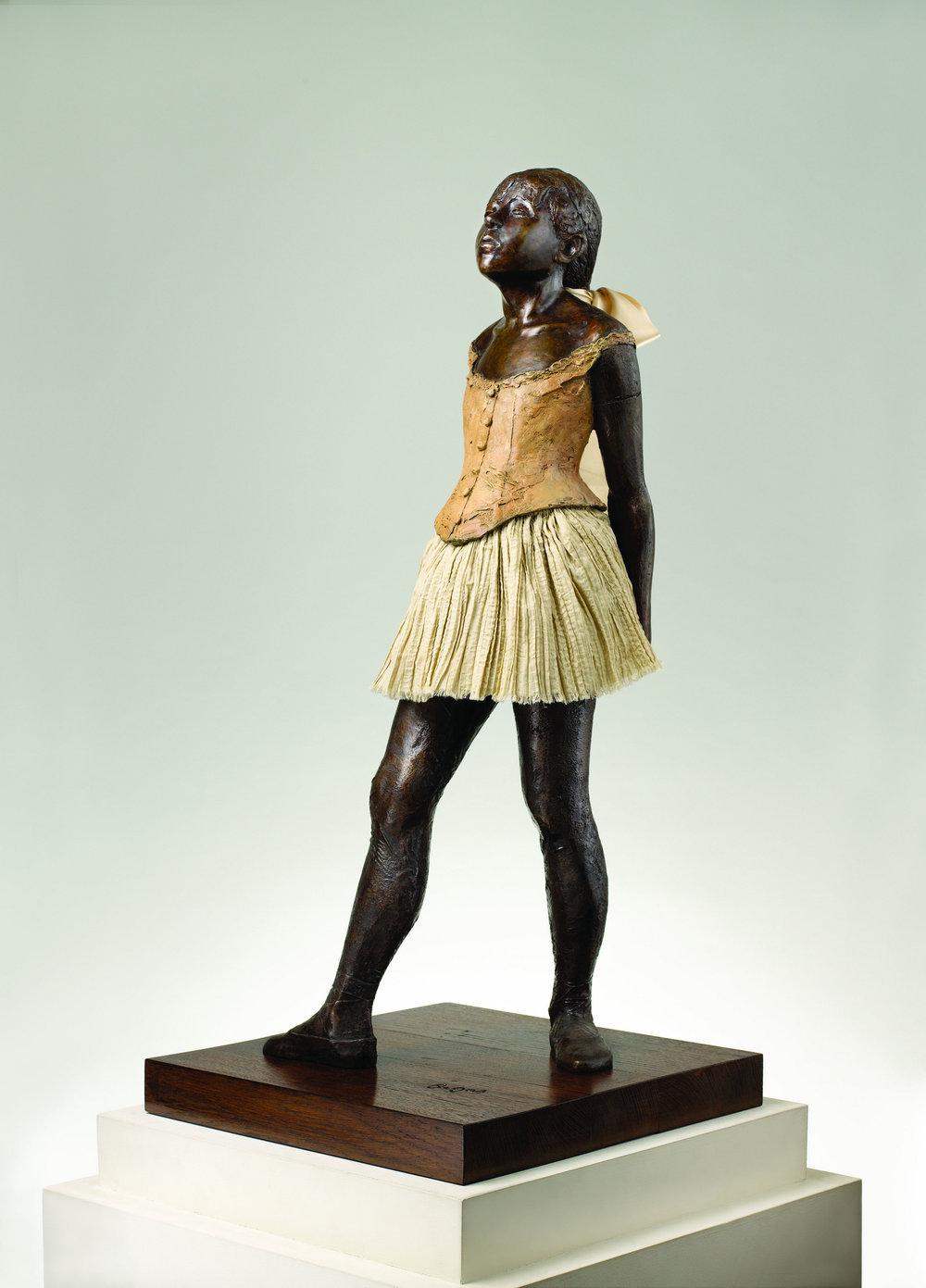 La petite danseuse de 14 ans,1881 by Edgar Degas