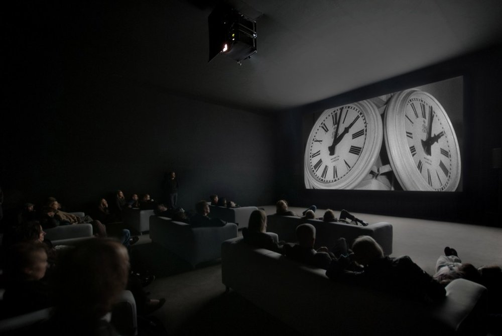 A still from  The Clock , 2010 by Christian Marclay.