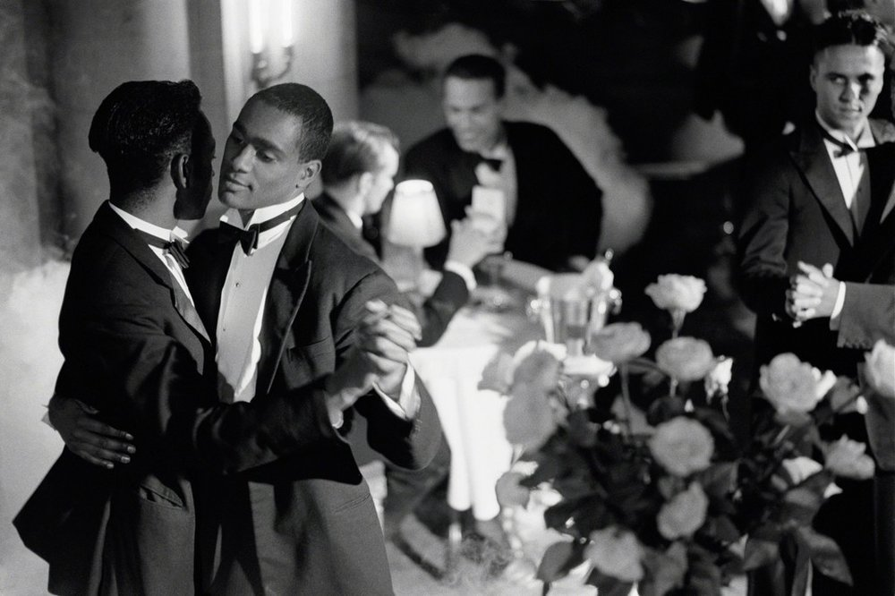 Pas de Deux with Roses, 1989 by Isaac Julien