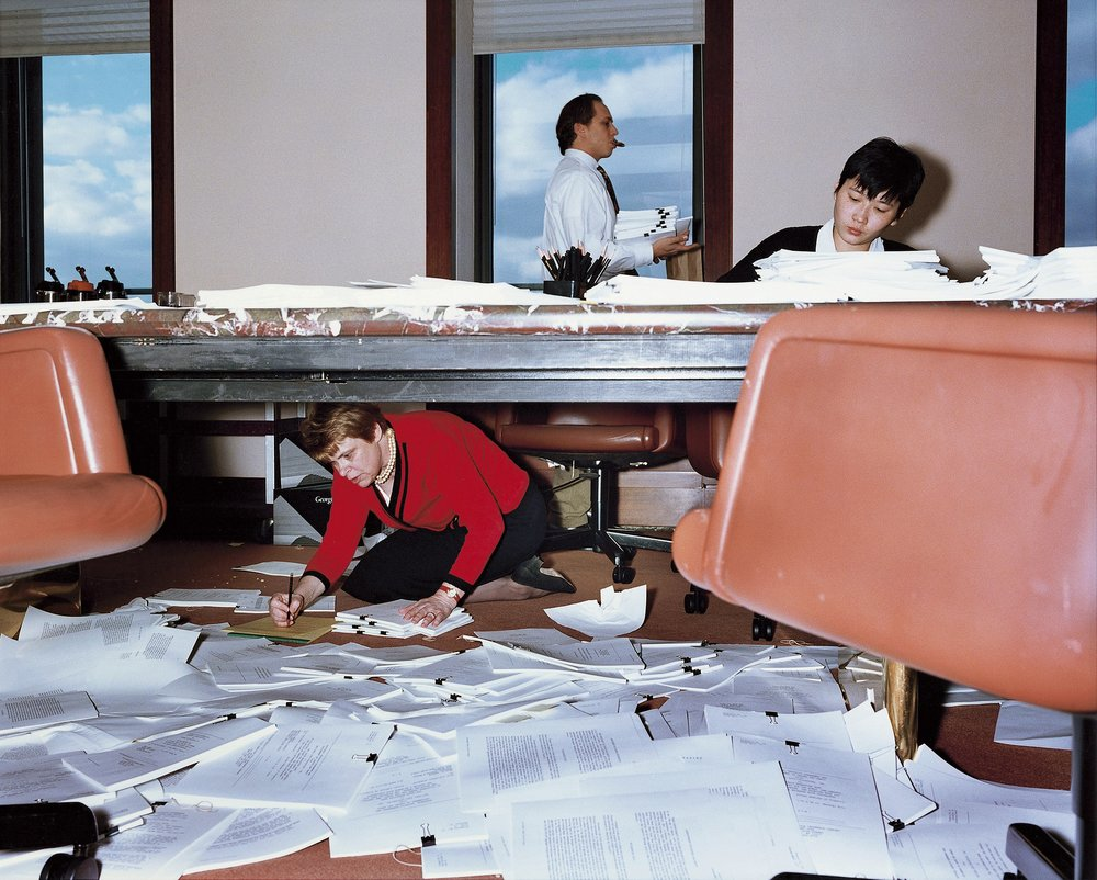 Lawyer's Office, New York, 1997 by Lars Tunbjörk.