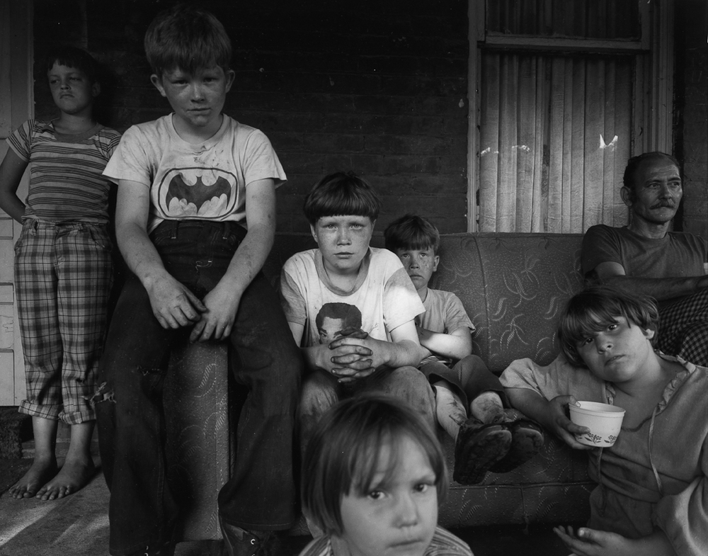 Ashland, Kentucky , 1982 by Nicholas Nixon.