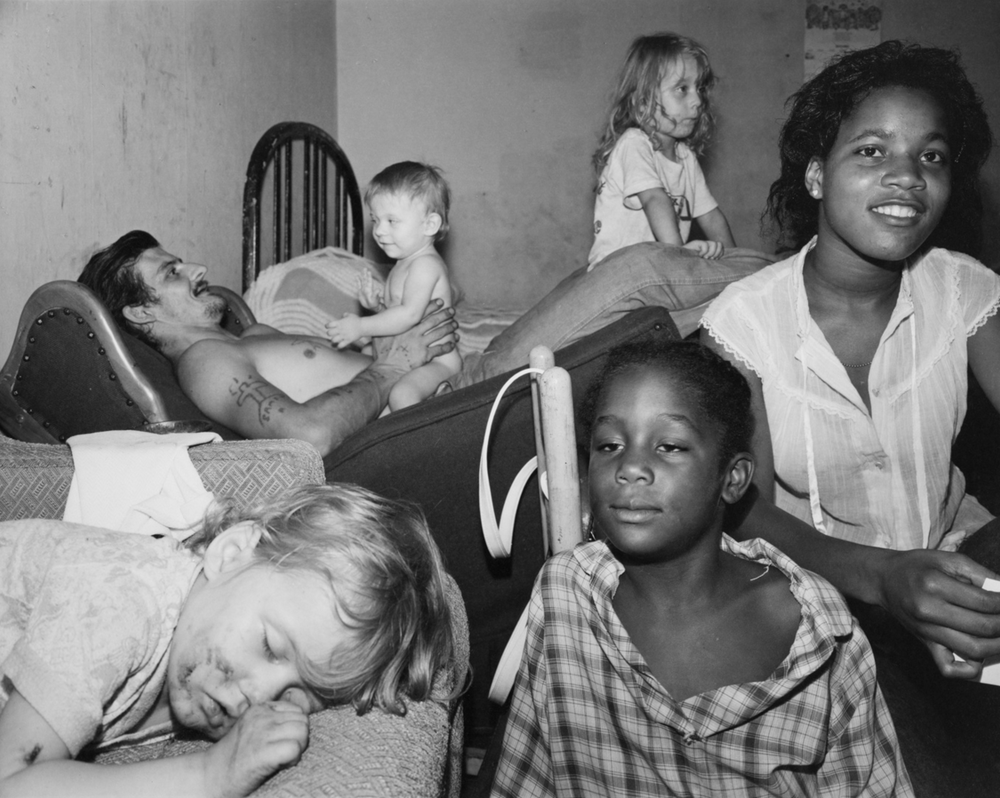 Cincinnati, 1980 by Nicholas Nixon.