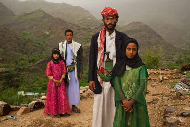 Child Brides in Afghanistan. Photo source:  National Geographic.