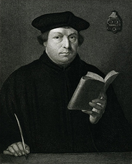 A portrait of Martin Luther. Photo source:  biblicalcounseling.com