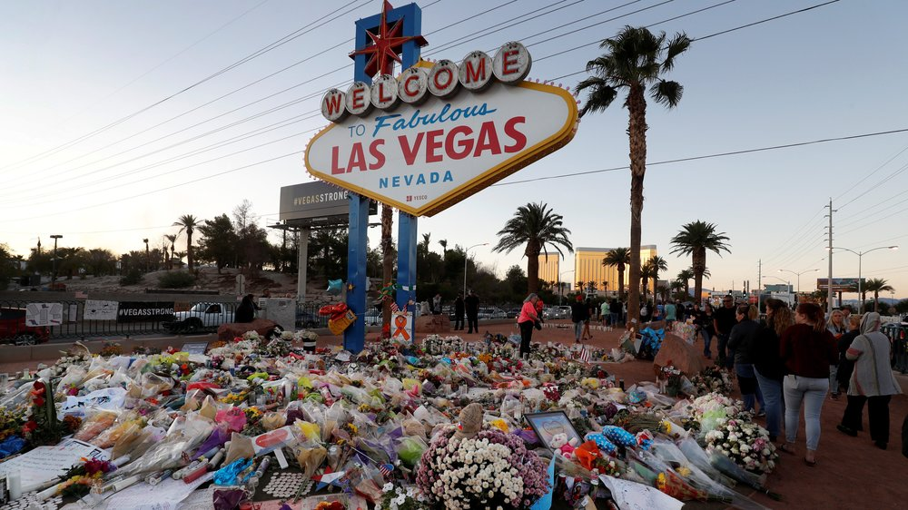 Las Vegas shooting which left 58 people dead and 546 injured on October 1, 2017.