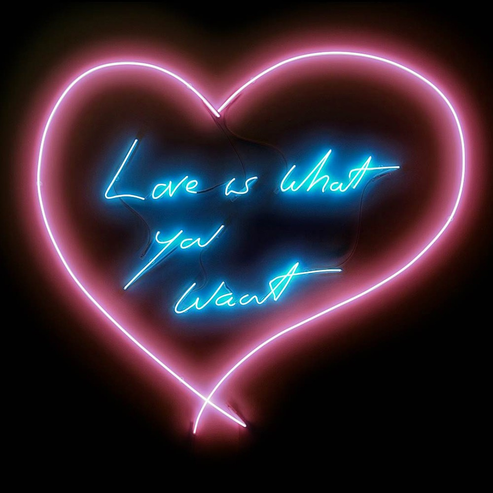 Love is What You Want , 2015 by Tracey Emin