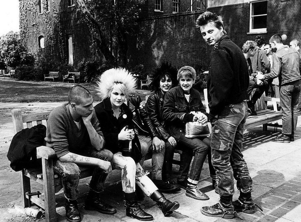 Punks , 1978 by Janette Beckman.