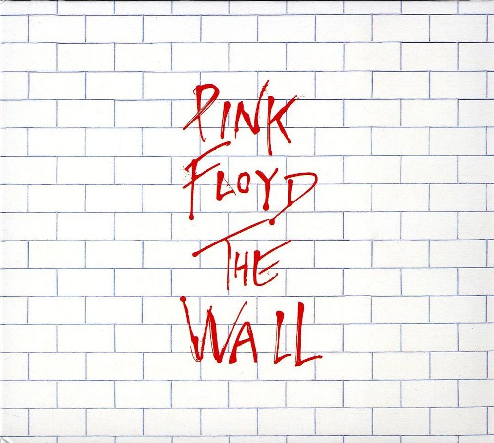 Pink Floyd 's 11th album cover, titled 'The Wall', 1979.